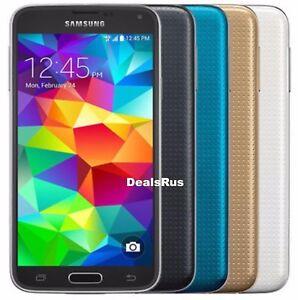 Samsung-Galaxy-S5-SM-G900V-16GB-Verizon-AT-amp-T-T-Mobile-GSM-UNLOCKED-CellPhone