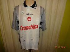 1.FC Kaiserslautern Adidas Ausweich Meister Trikot 1997/98 + Handsigniert Gr.M