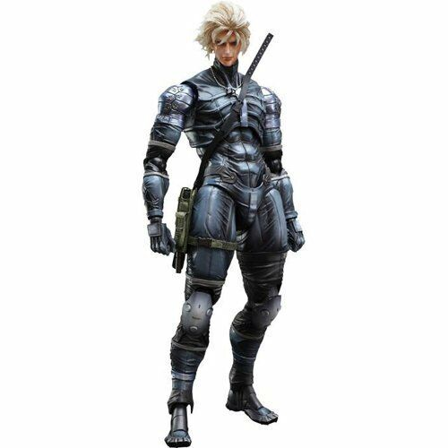 Play Arts Kai Metal Gear Solid Raiden 11 Inch Action Figure Metal Gear Solid 2