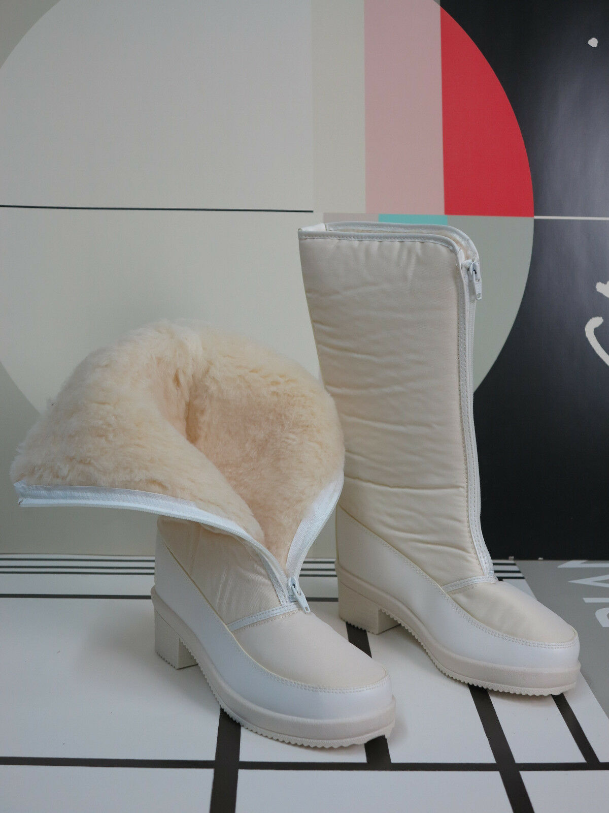 grandi risparmi Sole Sole Sole 38 da Donna Stivali Invernali Thermo 90er True Vintage 90s Winter stivali NOS OVP  buon prezzo