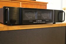 Carver M-500t Faceplate BLACK with Bezels, Handles, Spacers & Hardware!