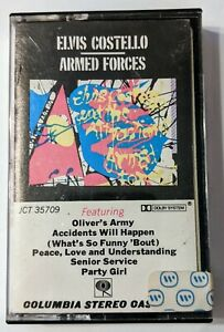 Elvis Costello, Armed Forces, Cassette Tape