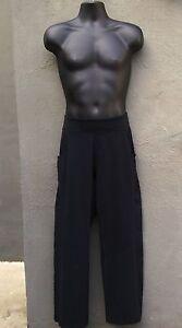 NX2NU-EUC-Mens-Lululemon-Black-Yoga-Gym-Trainer-Kung-Fu-Pants-30-X-30-Sz-M