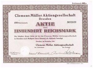 Clemens-Mueller-AG-Dresden-1941-100-RM