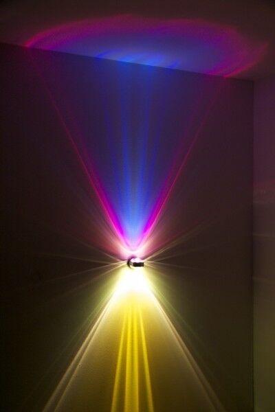 LED Design Wandleuchte Puk von Top Light Wandlampe Gold Lampe Flurlampe Leuchte