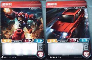 Veteran Autobot Ironhide Transformers TCG