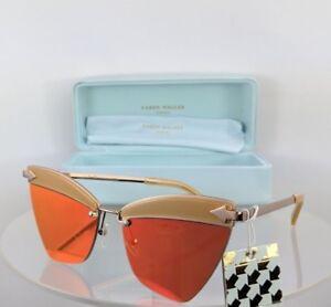 a5b7eb22c5d Image is loading Brand-New-Authentic-Karen-Walker-Sunglasses-SADIE-Tan-