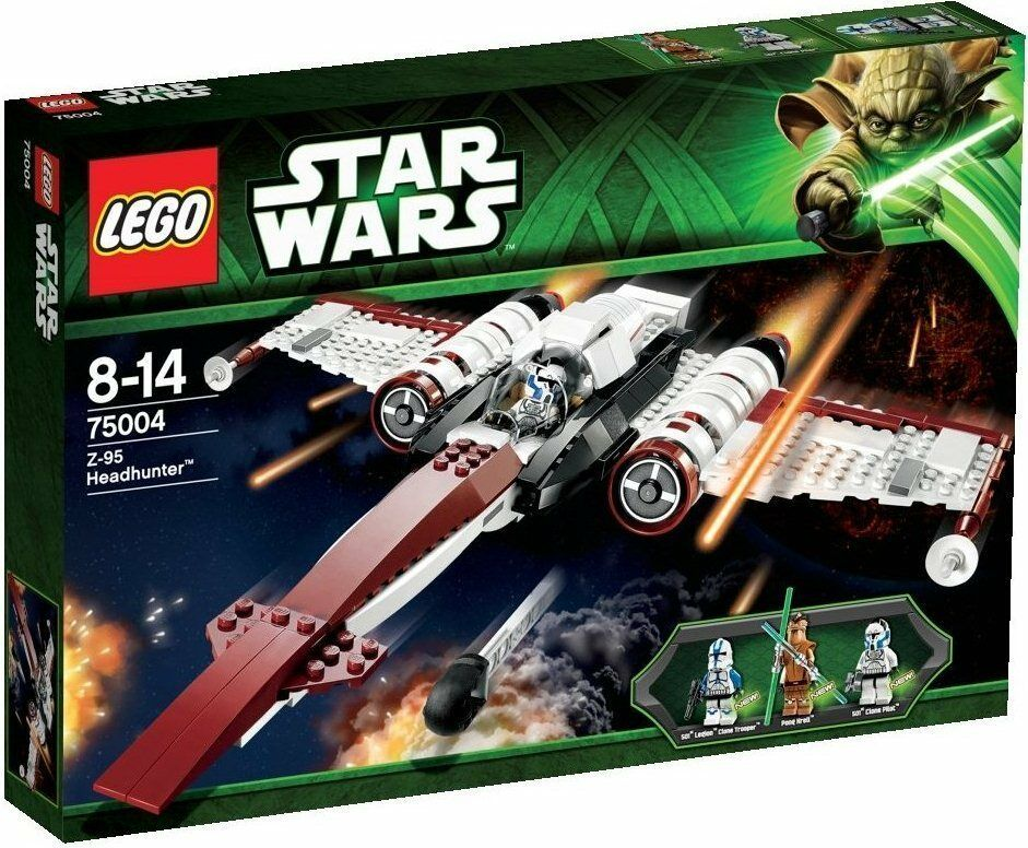 negozio a basso costo Lego Estrella Clone Guerras 75004 Z-95 Z95 Z95 Z95 HEADHUNTER Pong Krell Fig XMAS Present nuovo  autentico