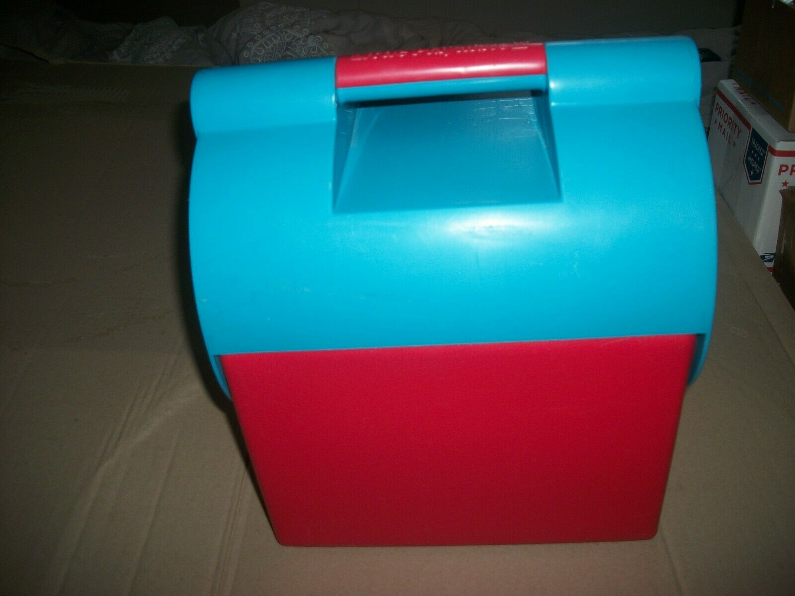 Rare Vintage Igloo Little Playmate II 2 Lunch Box Cooler-Ice  Chest Crown Corning  free shipping on all orders