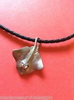 Manta Ray 18 Necklace Pewter Scuba Diving Gifts Equipment Surfing Novelty Fun