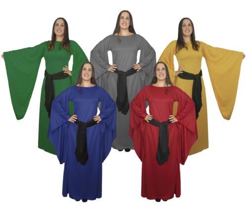 Señoras vestido de soltera Larp Medieval Disfraz Cosplay Juego de Tronos