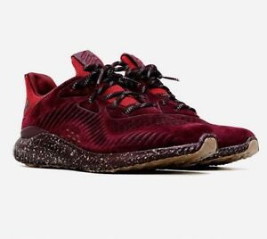 8bcc7b1553376 Image is loading MENS-ADIDAS-ALPHABOUNCE-LEATHER-MAROON-RUNNING-SHOES-MEN-