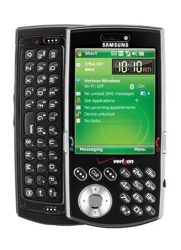 samsung sch i760 black verizon smartphone ebay rh ebay com HTC XV6700 HTC XV6900