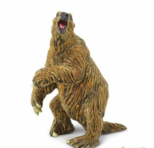 GIANT GROUND SLOTH MEGATHERIUM PREHISTORIC TOY MODEL by SAFARI LTD 274129 *NEW*