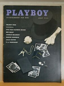 Playboy-January-1959-Very-Good-Condition-Free-Shipping-USA