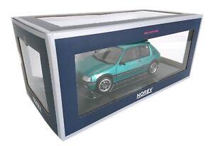 Peugeot-205-GTI-Griffe-1-9L-1990-1-18-NOREV-AUTO-DIECAST-MODEL-CAR