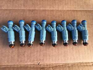 24LB EV6 Upgrade 4 Nozzle GENUINE BOSCH Fuel Injectors Set 8