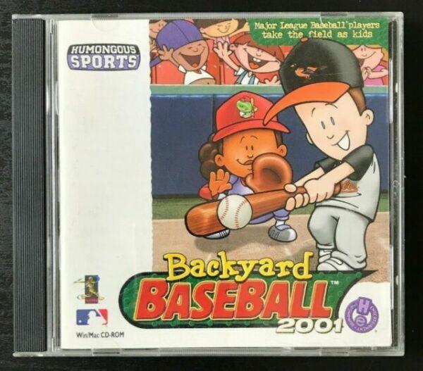 Backyard Baseball 2001 PC Mac CD Kids Major League MLB ...