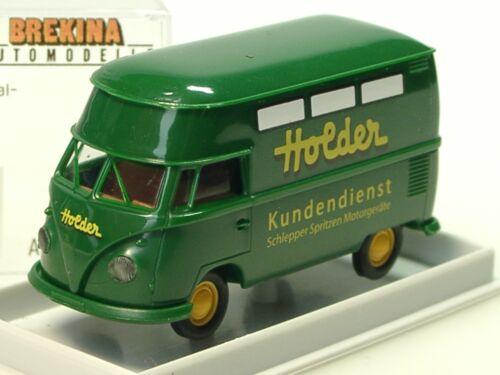 32612-1:87 Brekina VW T1 HOLDER Kundendienst Großraumkasten