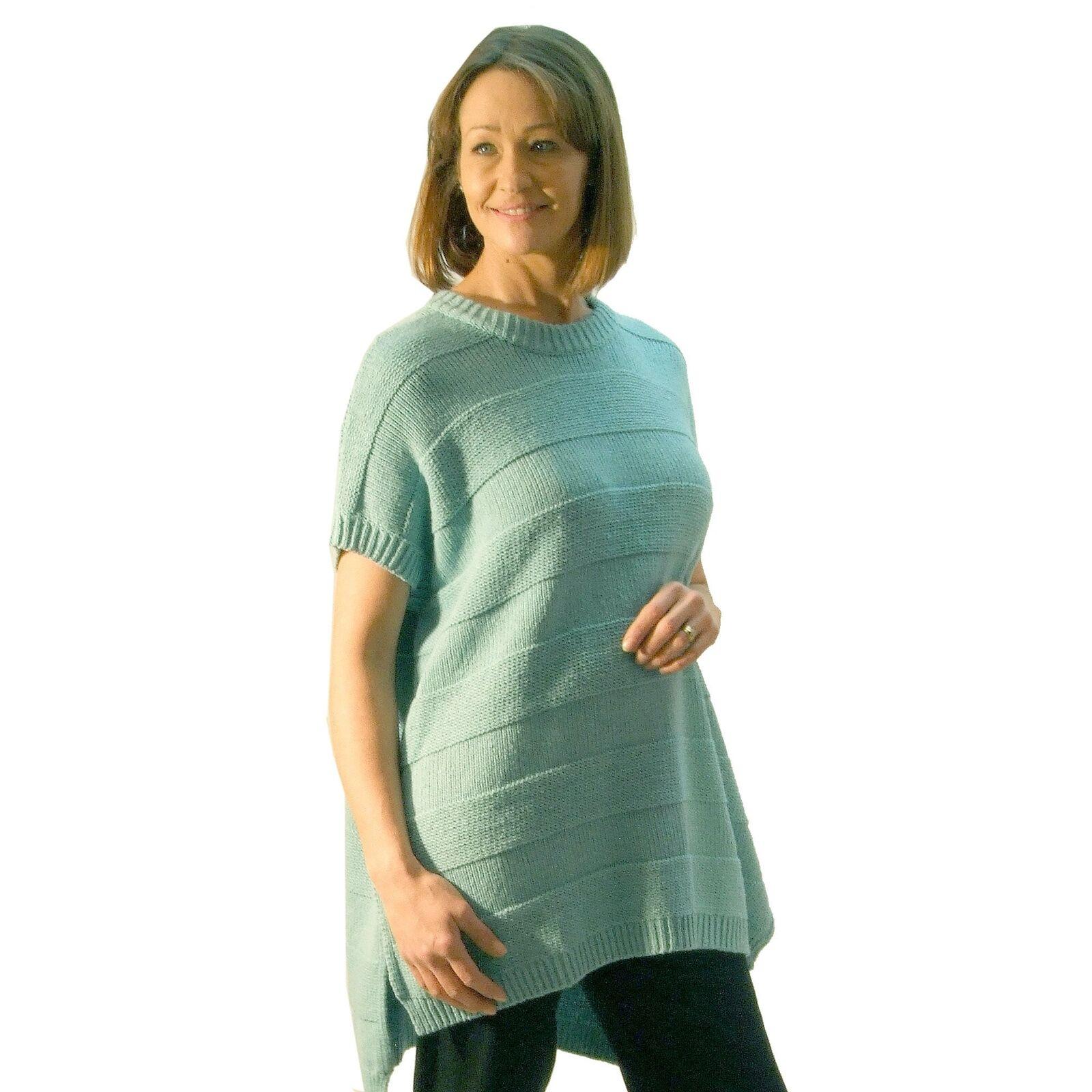 Masai Teal or Off White Sweater Farah 181877013 Oversize