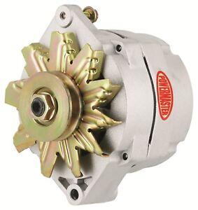 powermaster 8002 natural gm 12si racing 1 wire alternator w 1v rh ebay com