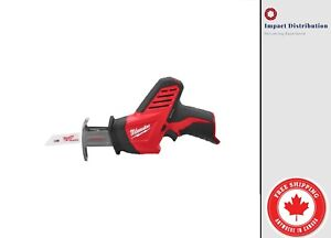 New-Milwaukee-M12-12-Volt-Hackzall-Recip-Saw-2420-20-Tool-Only-No-Battery