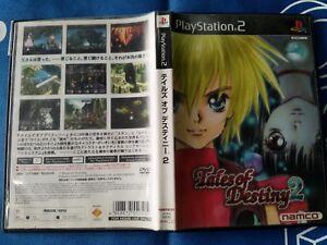 PS2 TALES OF DESTINY 2 (ORIGINAL USED)