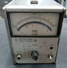 Hewlett Packard 3400a Rms Voltmeter 0 300 Volts