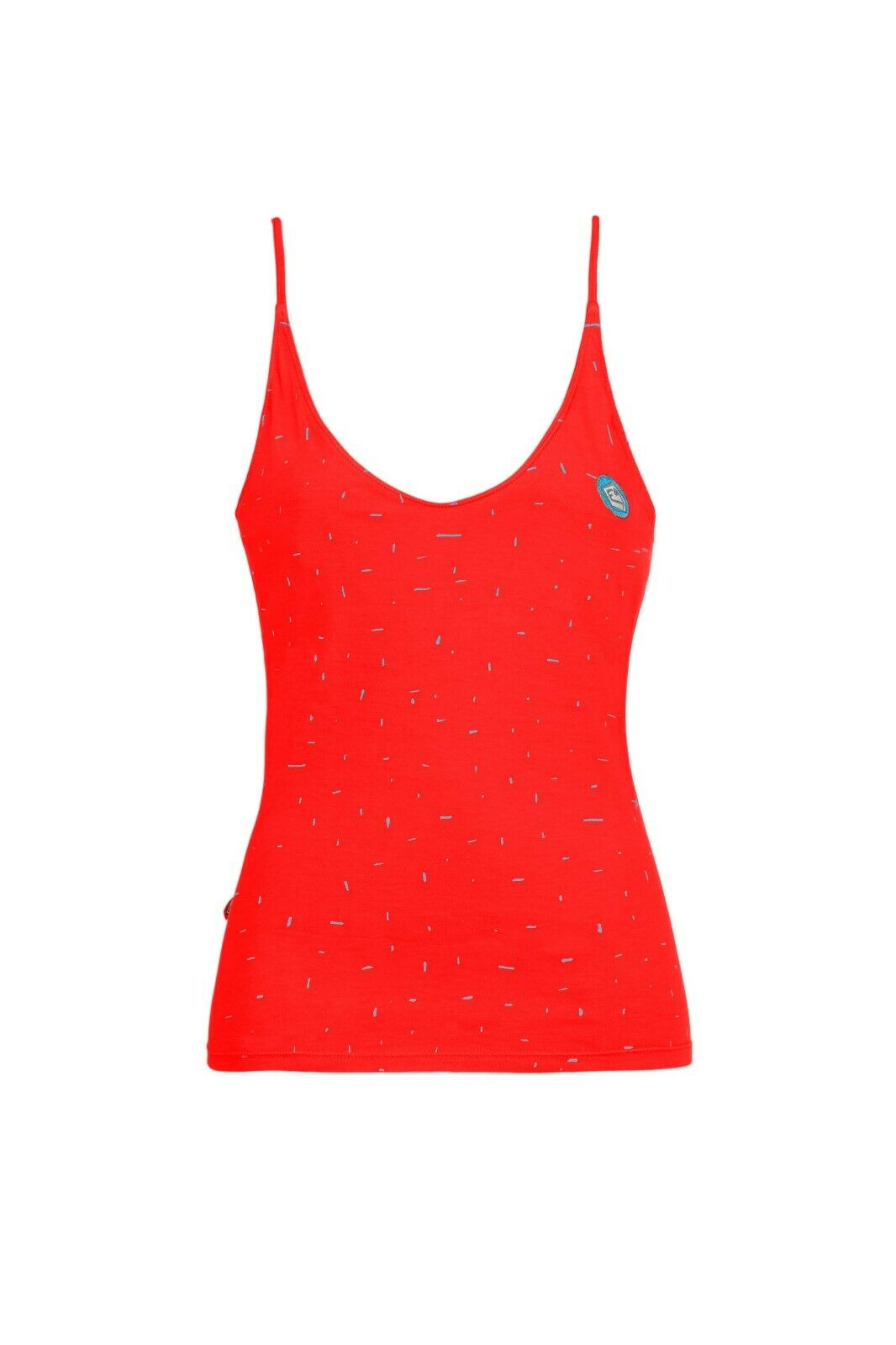 E9 Clara Rosso Top da Donna ArrampicataTop Yoga