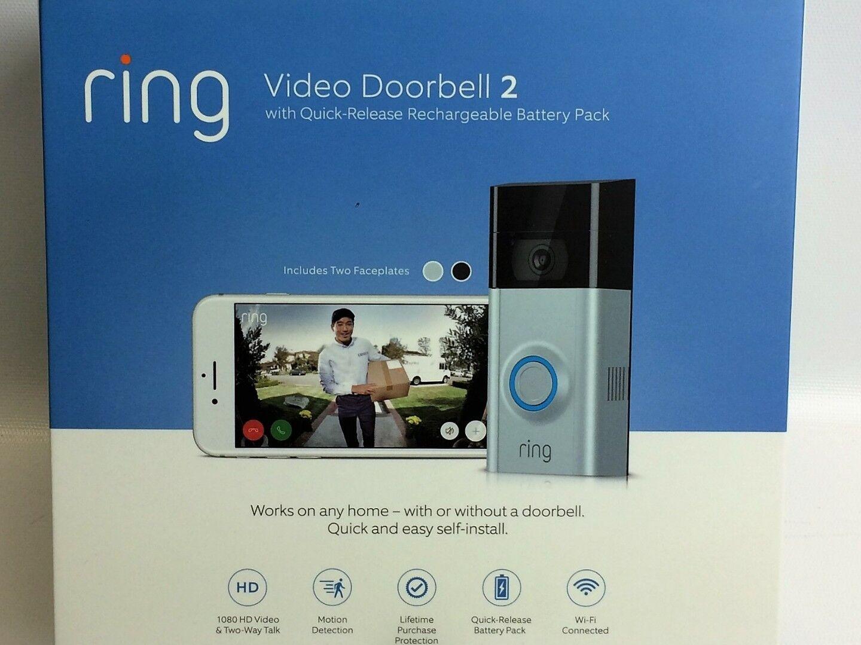 Ring Video Doorbell 2 Version 1080 HD WiFi Factory | eBay