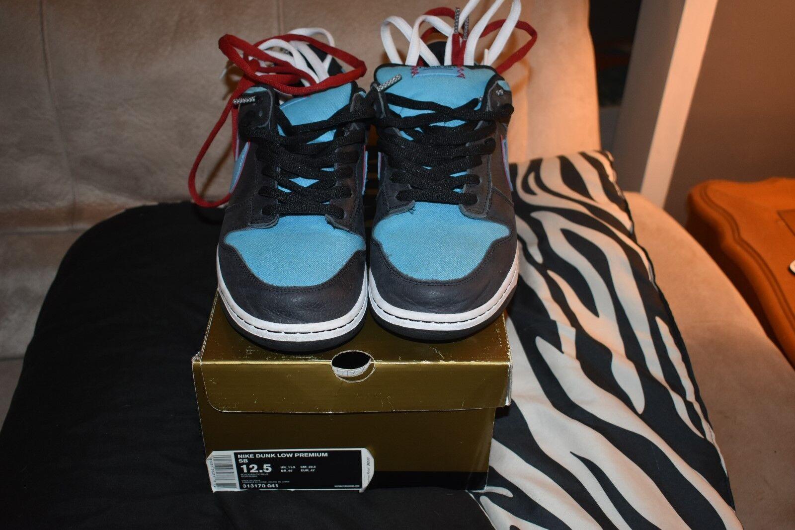 Nike dunk low premium - sb - 12,5 engel & tod 313170 041 12,5 - uns selten skunk dämonen 5fe42c