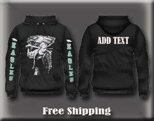more photos 32898 0dcfb Details about Philadelphia Eagles Jason Friday 13th Superbowl Champion  Pullover Hoodie S - 5XL
