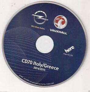 OPEL-CD-70-MAPPE-2015-ITALIA-GRECIA-CD-AGGIORNAMENTO-SOFTWARE-OPEL-CD70-NAVI