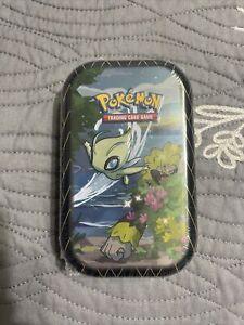 Shining Fates Celebi Mini Tin New & Sealed Pokemon TCG