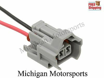 4 6 Michigan Motorsports Plug and Play Fuel Injector Adapters Fitment for EV1 to Nippon Toyota Denso Connectors