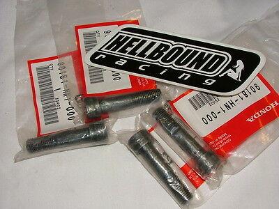 Honda OEM Swingarm Pinch Bolt TRX400EX TRX450R TRX450ER 400EX 450R pack of 4