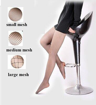 Women Lady Women's Mesh Fishnet Stockings Jacquard Pantyhose Waist High Tights