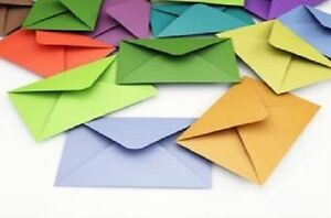 50-C6-Envelopes-Choice-of-18-colours-for-invitations-A6-Card-craft-FREE-AUS-P-amp-P