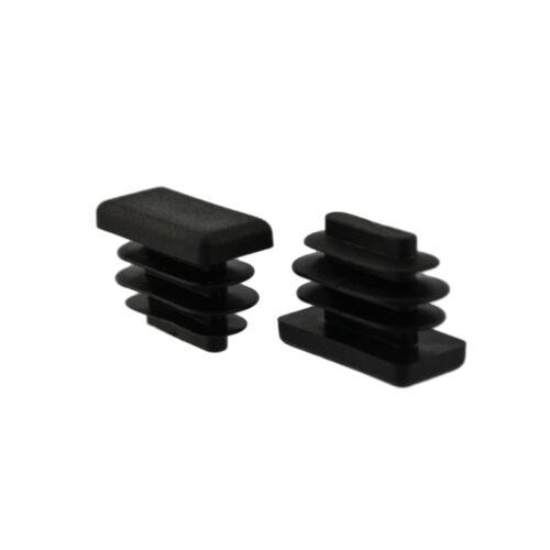 16 x Fussstopfen 20 x 10mm schwarz Stopfen Fusskappen Gartenstühle Möbel Stühle