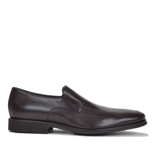 Bruno Magli Raging Slip On Loafers Leather Men/'s Shoes Dark Brown