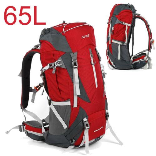 60//65//75L Wasserdicht Reiserucksack Trekking Rucksack Wanderrucksack Sporttasche