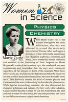 Marie Curie - High School - Famous Women In Science Poster (fp312)