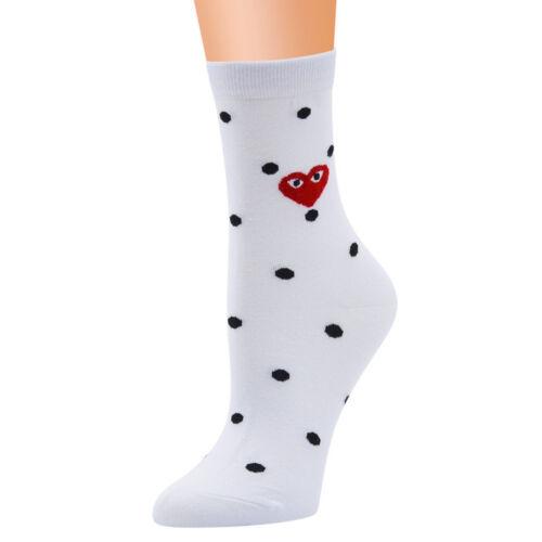 Moda donna carina morbido multi-colore modello Lady Calzini tubo calzini Cartoon