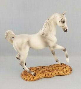 Breyer-8252-White-Grey-Arabian-Model-Horse-Resin-on-Base-Gallery