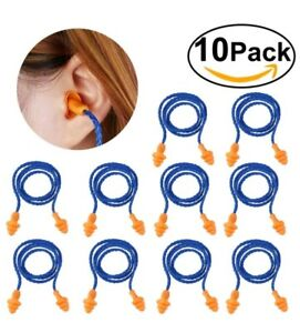 2Pair Soft Silicone Ear Plugs Anti Noise Hearing Protection Earplugs With Box HK