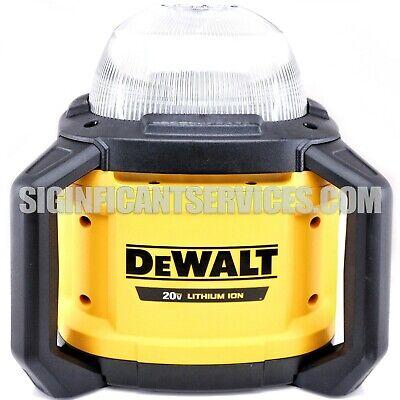 DeWALT DCL074 20 Volt Job Site Work Light 5000 Lumens All-Purpose Cordless NEW