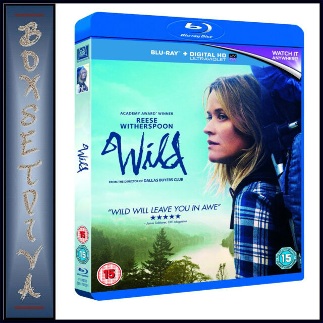 WILD - Reese Witherspoon **BRAND NEW BLU-RAY**