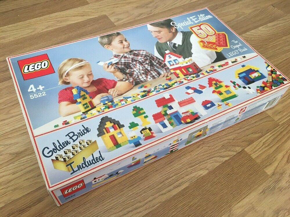 LEGO 5522 - SPECIAL EDITION - goldEN ANNIVERSARY SET 50 Years - BRAND NEW- RARE