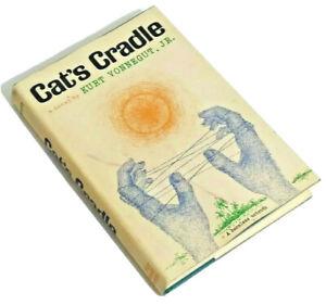 Cat's Cradle by Kurt Vonnegut 1963 First 1st Edition Fiction HC DJ Hardcover