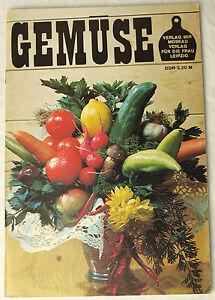 SéRieux Cahier Recettes Légumes Cookbook Ddr Nostalgie De La Rda Gdr Plats Champignons Couleur Rapide